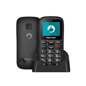 Feature-Phone-Positivo-P36-3G-1.8----Preto