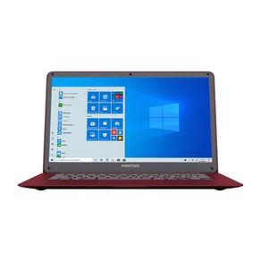 """Notebook Positivo Motion C4500a Intel® Celeron® Dual-Core™ Windows 10 Home 14"""" - Vermelho"""