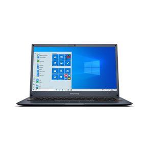 "Notebook Positivo Motion Q232B Intel® Quad-Core™ Windows 10 Home Flash 14"" - Cinza Azulado"