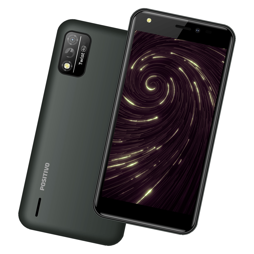 Celular Smartphone Positivo Twist 4 Fit S509n 32gb Preto - Dual Chip