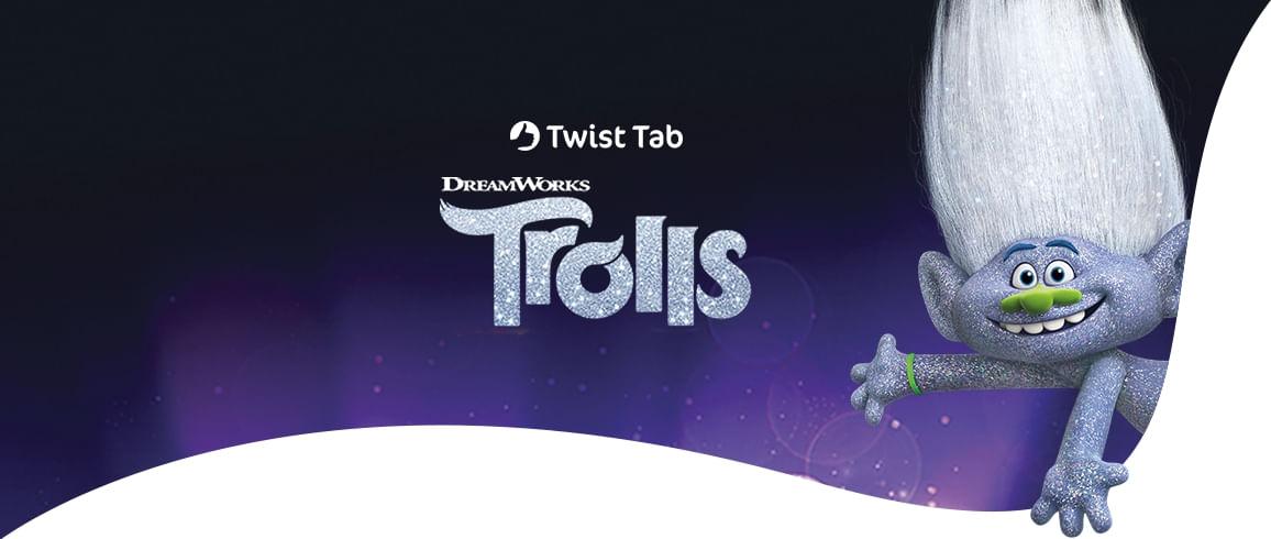 Positivo Twist Tab Trolls